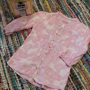 Marks & Spencer Linen with Love Blouse